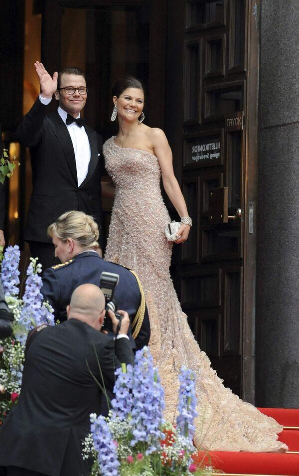 Свадьба шведской кронпринцессы Виктории