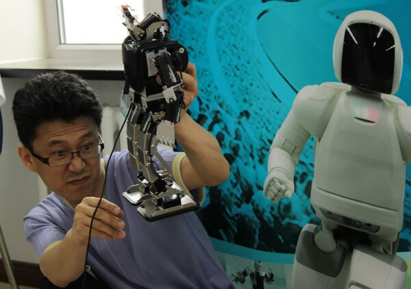 Олимпиада андроидов в китайском Харбине