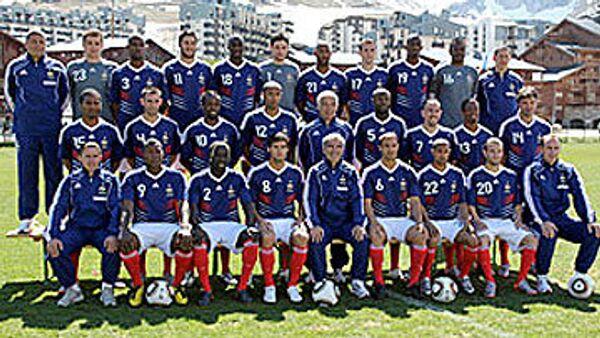Сборная Франции по футболу. Архив