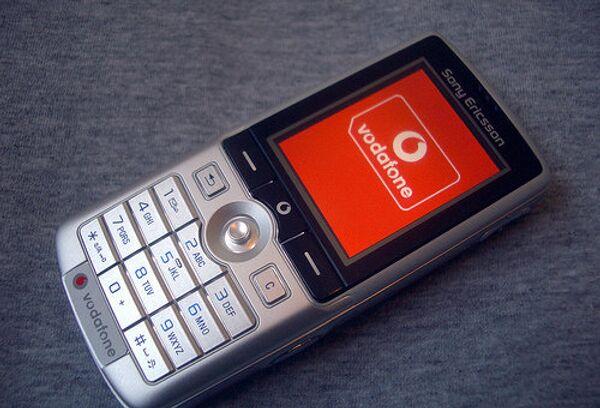 Vodafone. Архивное фото
