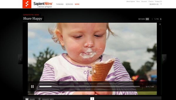 Скриншот видео с сайта www.sapient.com
