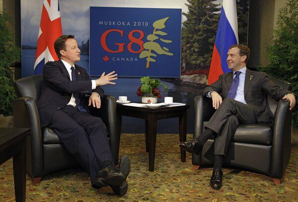 Президент РФ Д.Медведев принял участие в саммите G8 в Канаде