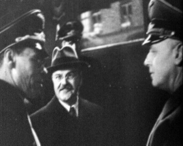 В ноябре 1940 года Молотов приехал в Берлин для встречи с Гитлером