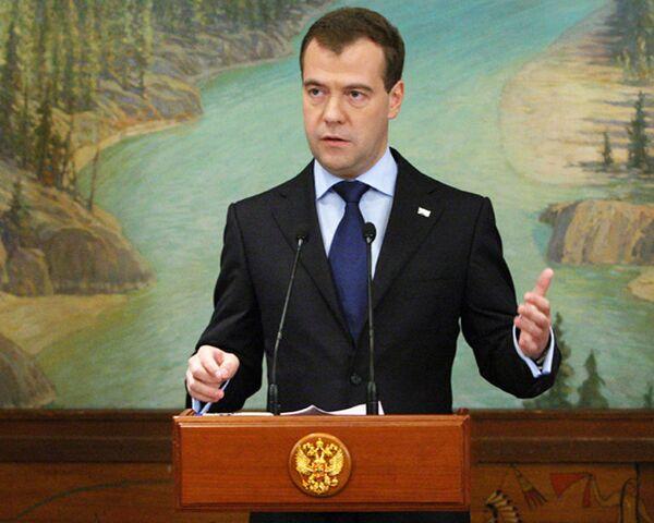 В России защитят море от нефтяных аварий - Медведев