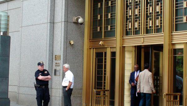 Окружной суд Нью-Йорка, где проходят слушания по делу о шпионаже