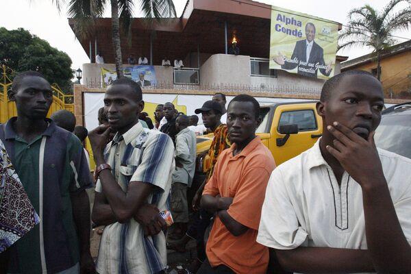 Выборы в Гвинее