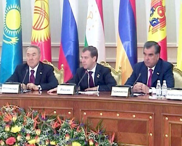 Медведев: кодекс ТС для РФ, Белоруссии и Казахстана вступает в силу