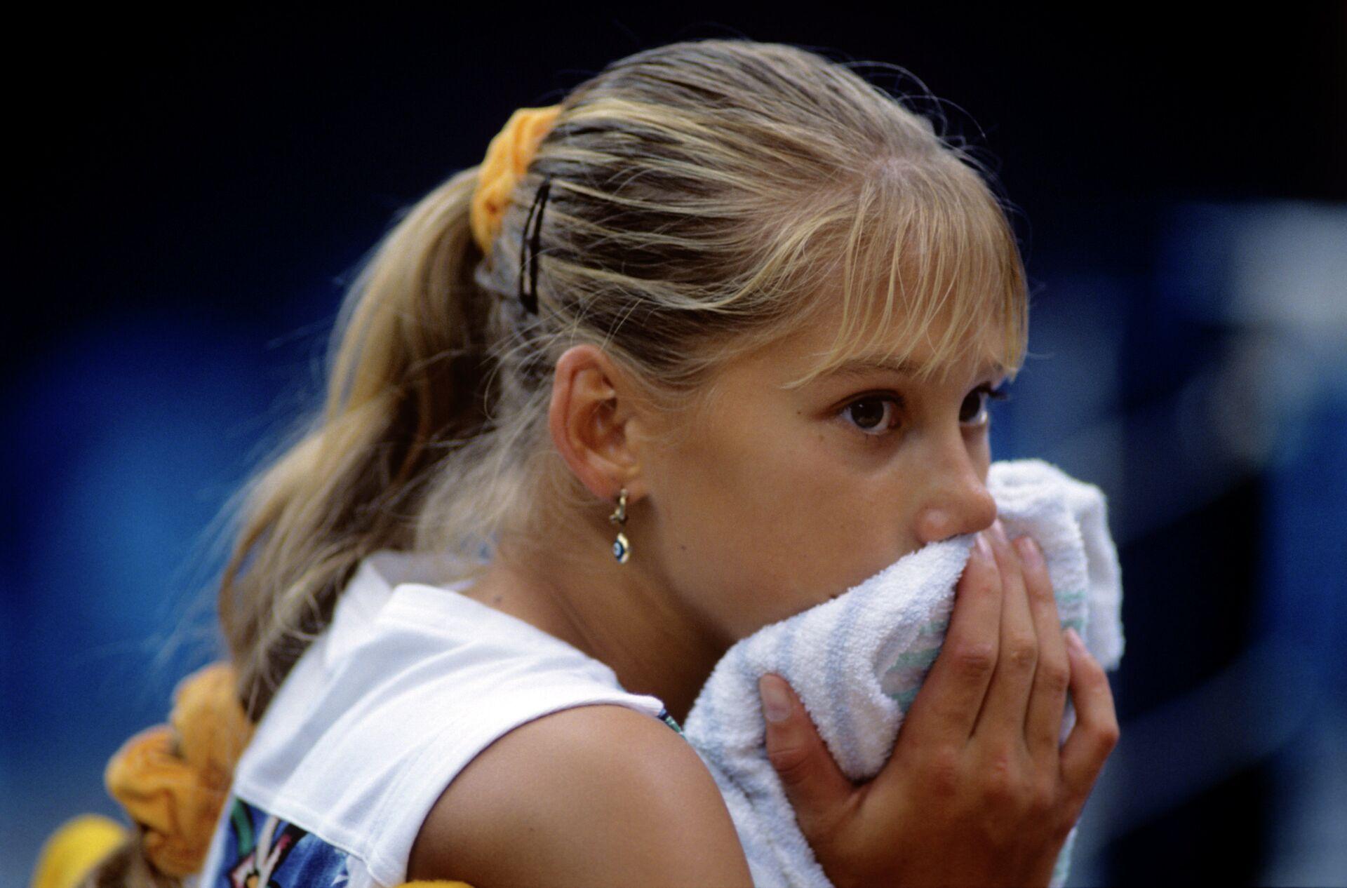 Самая юная участница соревнований россиянка Анна Курникова - РИА Новости, 1920, 03.06.2021