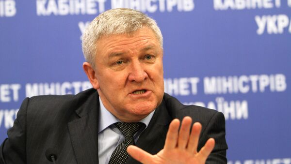 Пресс-конференция министра обороны Украины Михаила Ежеля в Киеве. Архивное фото