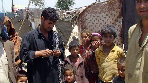 Кабульский лагерь беженцев Парван-2