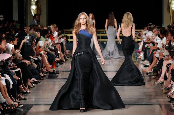 Коллекция Stephane Rolland haute couture осень-зима 2010-11 на неделе моды в Париже