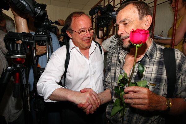 Оглашение приговора Андрею Ерофееву и Юрию Самодурову