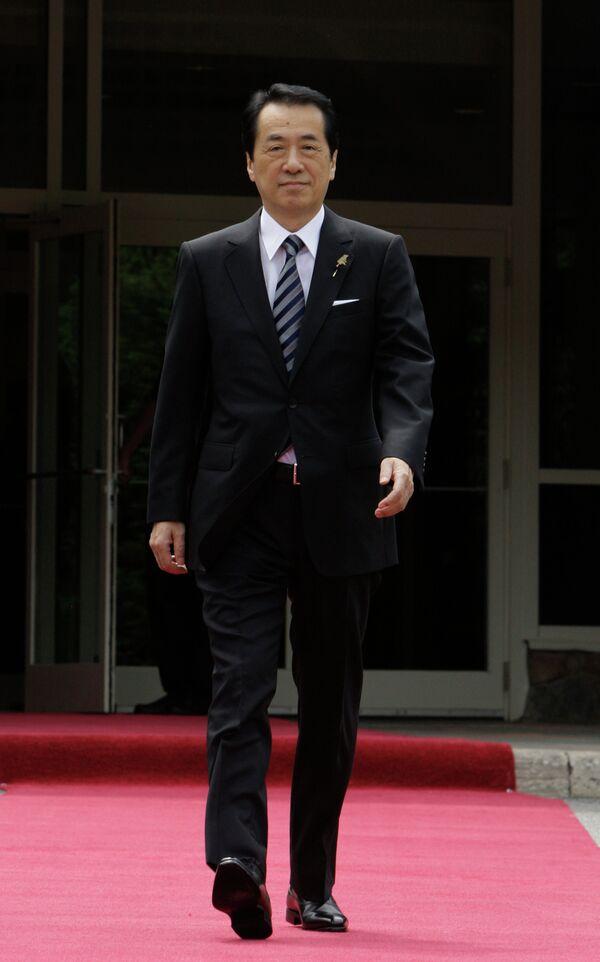 Премьер-министр Японии Наото Кан. Архив.