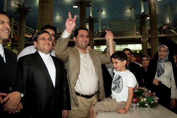 Иранский ученый-ядерщик Шахрам Амири прибыл в Тегеран