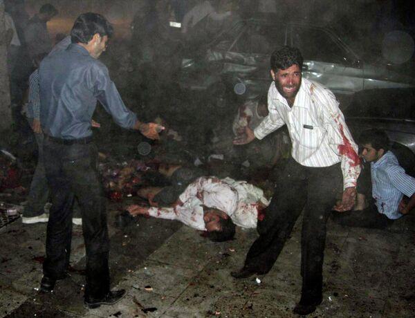 Жертвы взрывов в иранском Захедане (15 июля 2010 г.)
