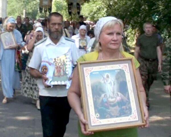 Память царской семьи почтили крестным ходом в Минеральных Водах