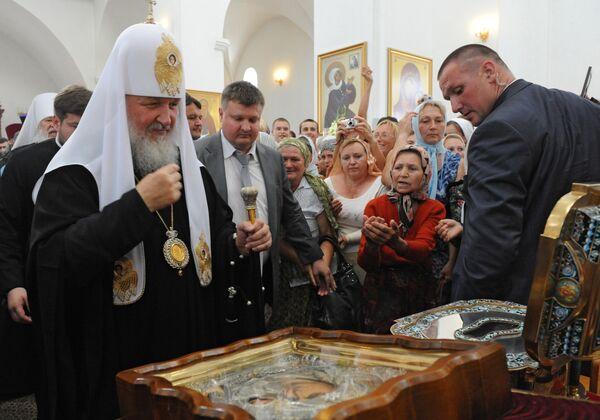 Патриарх Московский и всея Руси Кирилл прибыл в Одессу