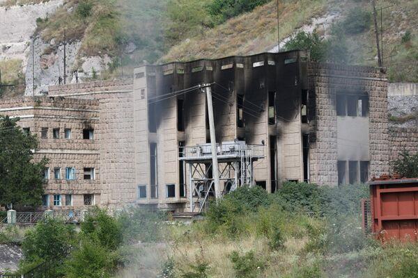 На Баксанской ГЭС взорвались четыре бомбы, одна обезврежена
