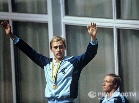 Пловец Сергей Копляков