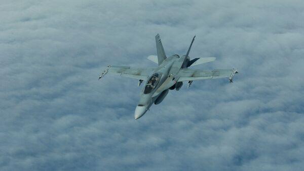 Самолет канадских CF-18. Архивное фото