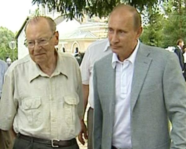 Путину показали, где находится отец городов русских