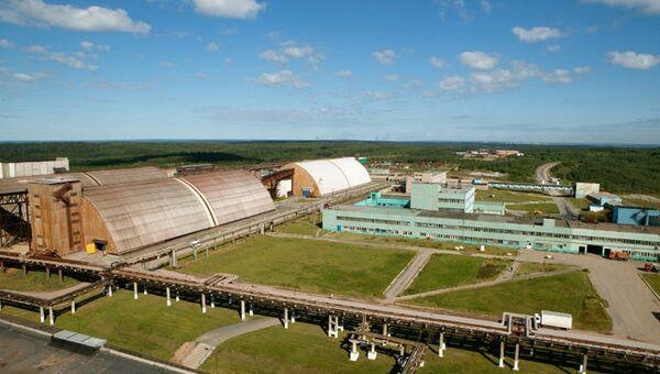 Завод компании Уралкалий