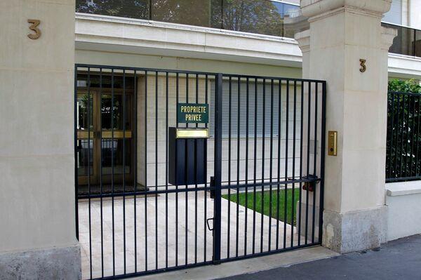 Дом Франсуазы Мейерс-Бетанкур, где французская полиция провела обыск