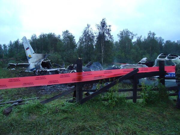 Крушение самолета Ан-24 в Красноярском крае
