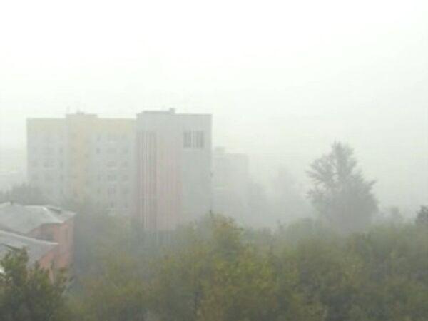 Облако дыма накрыло Тулу