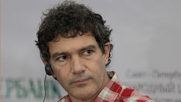 Голливудский актер Антонио Бандерас. Архив