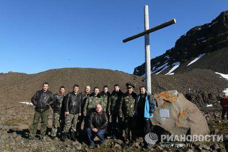 Российская экспедиция на Землю Франца Иосифа по поиску следов пропавшей в 1914 году Арктической экспедиции Брусилова-Альбанова.