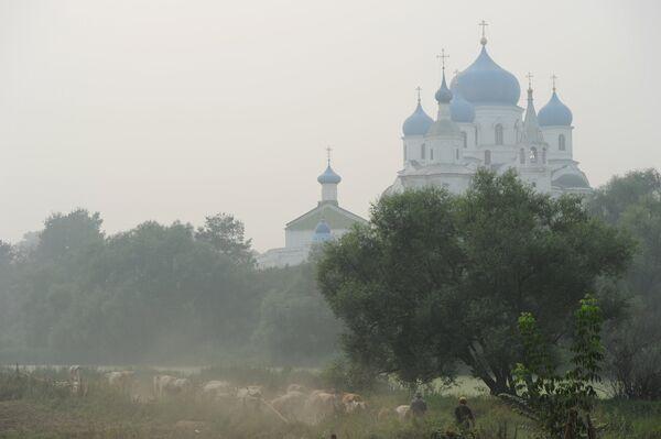 Свято-Боголюбовский женский монастырь в Боголюбово. Архив