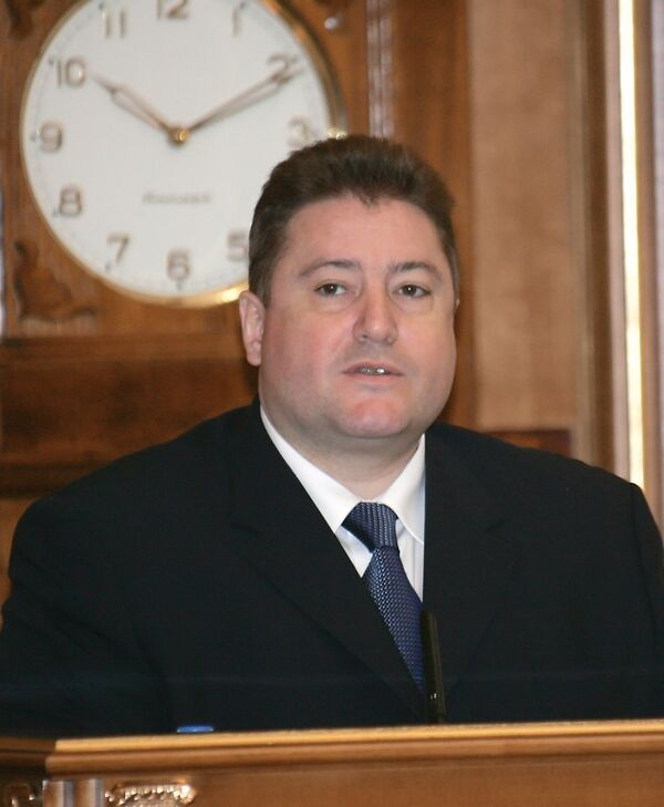 Экс-губернатор Калининградской области Георгий Боос. Архив