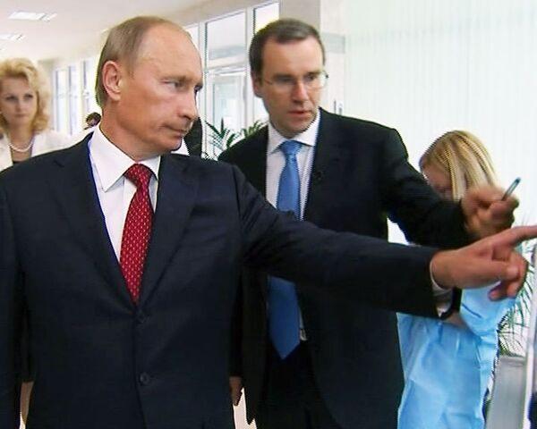 Путин обязал регионы сдать 22 перинатальных центра к 2012 году