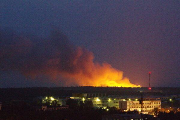 Пожар на Фрязино 18 августа 2010 года