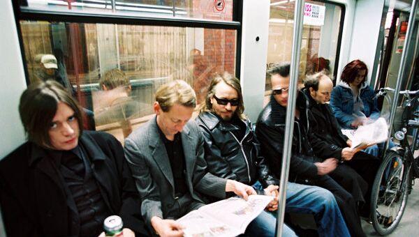 Участники группы Einsturzende Neubauten. Архивное фото