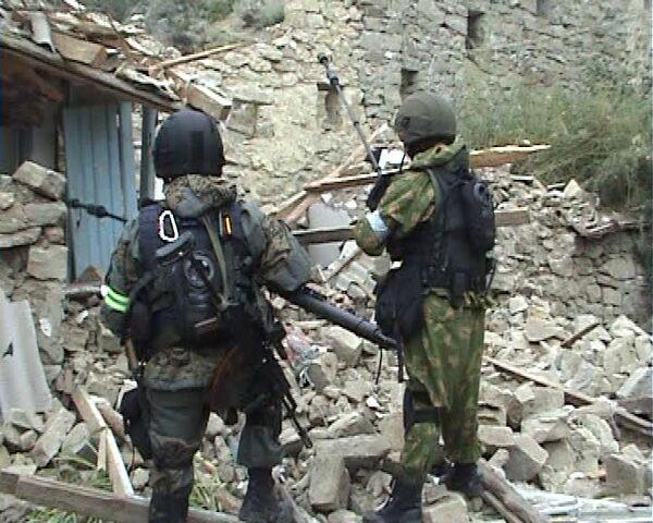 Спецоперация в Дагестане. Архив