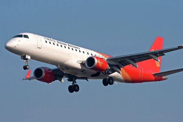 Самолет авиакомпании Henan Airlines