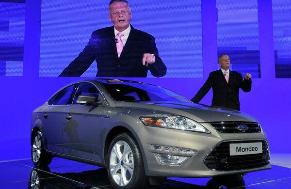 Презентация автомобиля Ford Mondeo