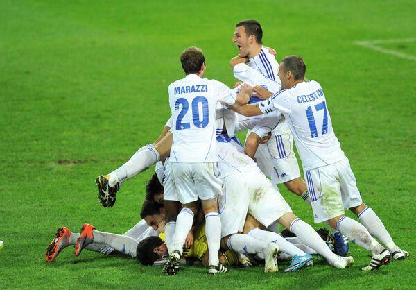 Футболисты Лозанны
