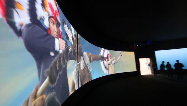Выставка Пир Трималхиона группы AES+F. Архив