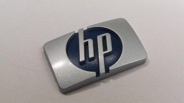 Фотография логотипа Hewlett-Packard