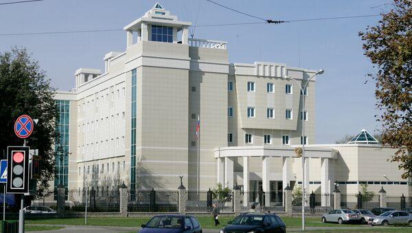 Посольство России в Белоруссии. Архивное фото