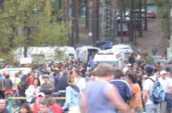 Массовая драка на рок-фестивале «Торнадо-2010»
