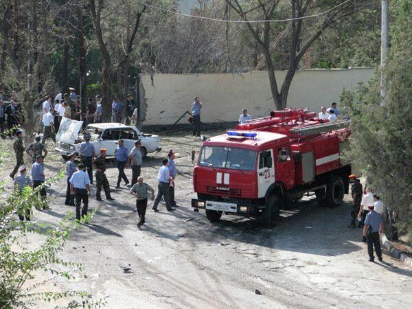 Взрыв в развлекательном центре Дусти на южной окраине Душанбе
