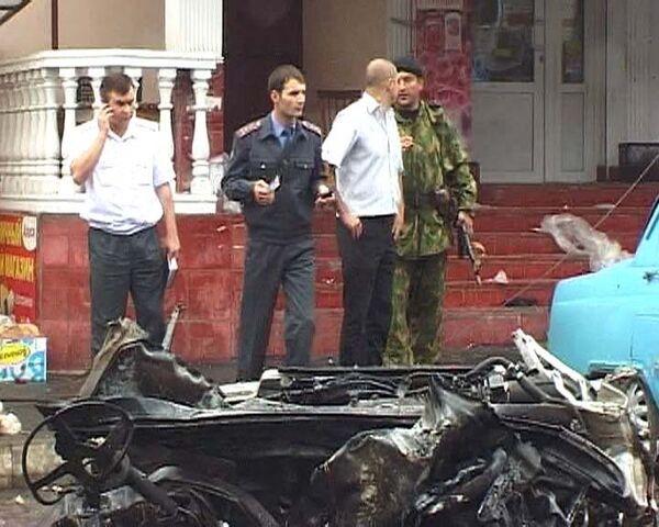 В самом людном месте Владикавказа прогремел взрыв