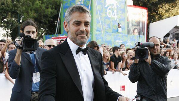 Джордж Клуни, архивное фото