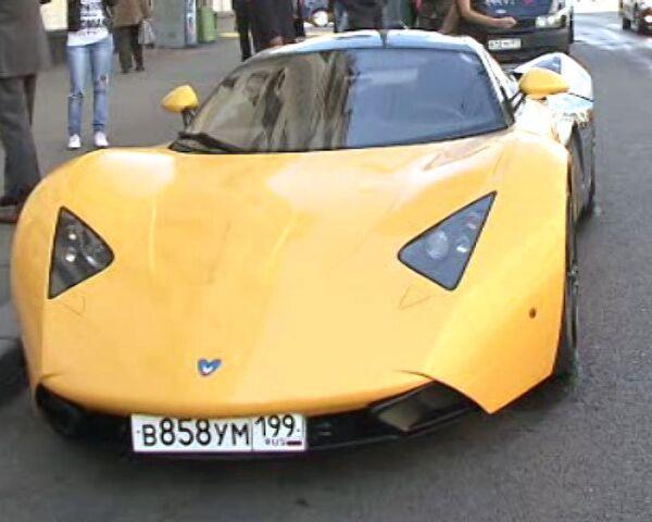 Спорткар премиум-класса Marussia можно купить в кредит