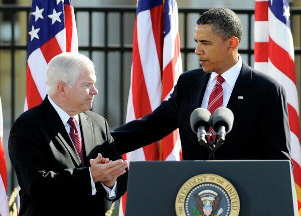 Барак Обама во время церемонии в годовщину терактов 11 сентября
