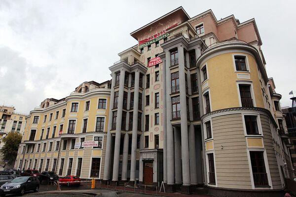 Один из самых дорогих домов в Москве (Большой Гнездиковский переулок, дом 3). Архив